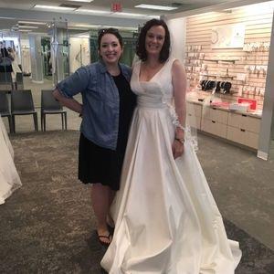 Ivory Wedding Dress size 10 street size 6